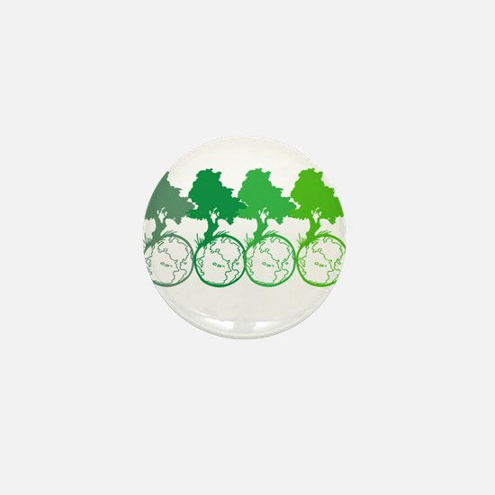Being Green Mini Button