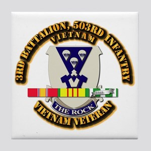 Army - 3rd Battalion, 503rd Infantry w SVC Ribbons