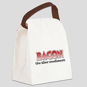 Über Bacon Canvas Lunch Bag