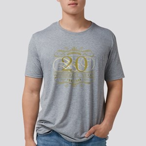 Celebrating 20th Anniversar Mens Tri-blend T-Shirt