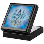 Keepsake Box Shiva in Vedic Crystal