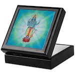 Keepsake Box Vishnu in Vedic Crystal