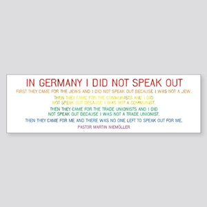 In Germany Sticker (Bumper)