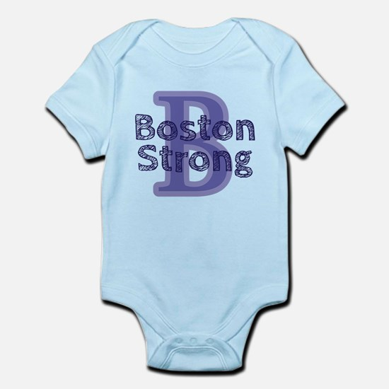 B Boston Strong Infant Bodysuit