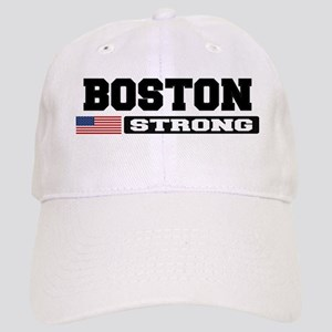 BOSTON STRONG U.S. Flag Baseball Cap