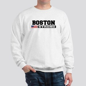 BOSTON STRONG U.S. Flag Sweatshirt