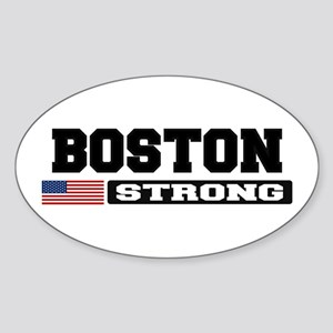 BOSTON STRONG U.S. Flag Sticker
