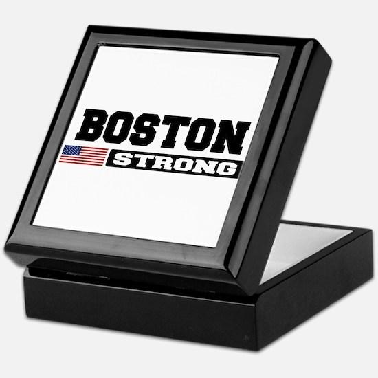 BOSTON STRONG U.S. Flag Keepsake Box