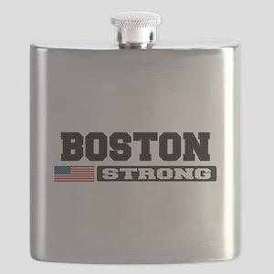 BOSTON STRONG U.S. Flag Flask