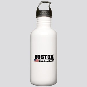BOSTON STRONG U.S. Flag Water Bottle