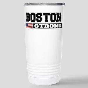 BOSTON STRONG U.S. Flag Travel Mug