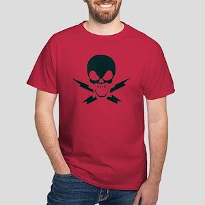 Lightning Bolt Jolly Roger Dark T-Shirt