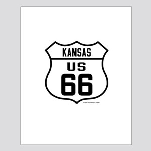 US Route 66 - Kansas Posters