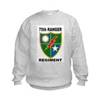 75TH RANGER REGIMENT Kids Sweatshirt