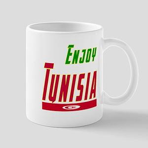Enjoy Tunisia Flag Designs Mug