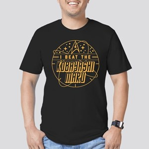 Kobayashi Maru Men's Fitted T-Shirt (dark)