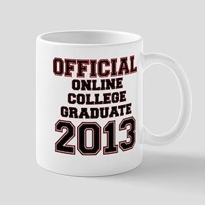 OFFCIAL ONLINE COLLEGE GRADUATE 2013 RED Mug