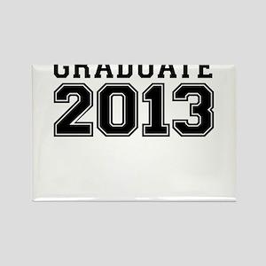 GRADUATE 2013 Rectangle Magnet