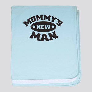 Mommys new man baby blanket