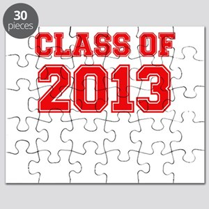 CLASS OF 2013 VARSITY RED Puzzle