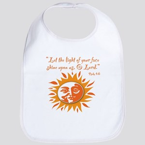 Light of Your Face Bib