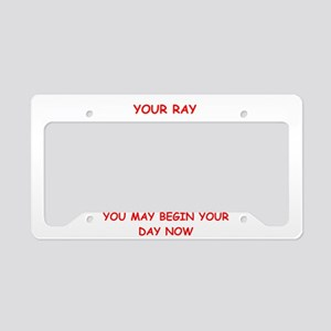 sunshine License Plate Holder