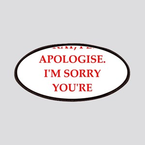 apologise Patches