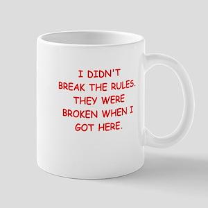 rules Mug