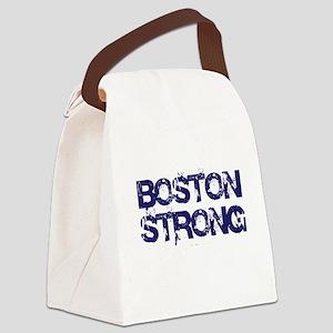 Boston Strong Block Destroy Canvas Lunch Bag
