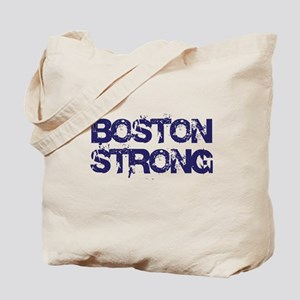 Boston Strong Block Destroy Tote Bag