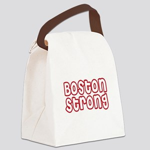 Boston Strong Outline Canvas Lunch Bag