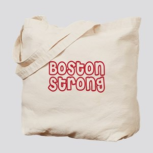 Boston Strong Outline Tote Bag