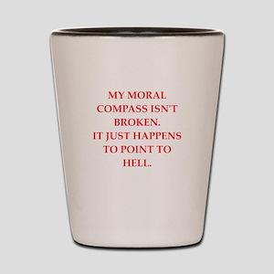 immoral Shot Glass