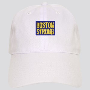 Boston Strong Yellow & Blue Cap