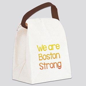 We Are Boston Strong Multi Canvas Lunch Bag