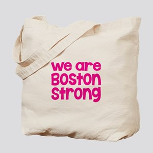We Are Boston Strong Pink Tote Bag