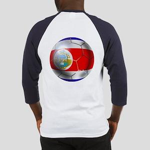 Costa Rica Soccer Ball Baseball Jersey