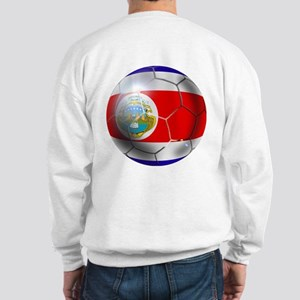 Costa Rica Soccer Ball Sweatshirt
