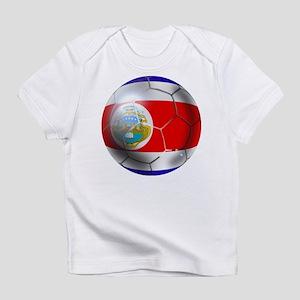 Costa Rica Soccer Ball Infant T-Shirt