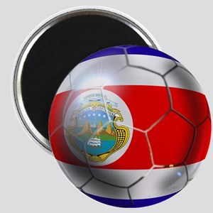 Costa Rica Soccer Ball Magnet