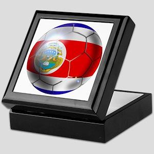 Costa Rica Soccer Ball Keepsake Box