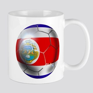 Costa Rica Soccer Ball Mug