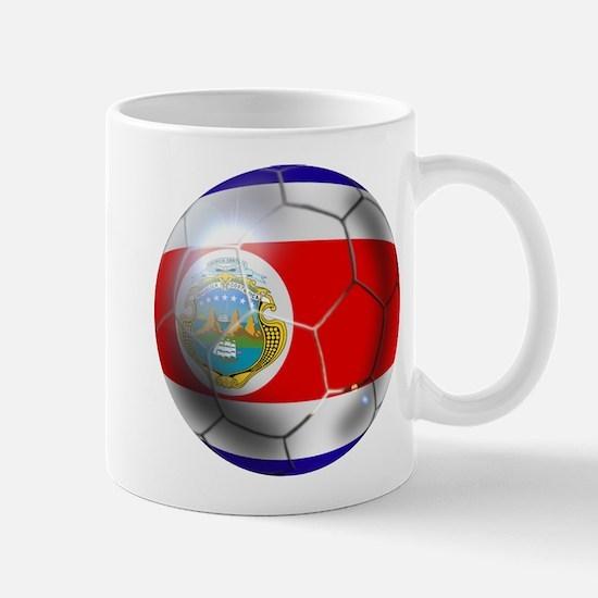 Costa Rica Soccer Ball Mug