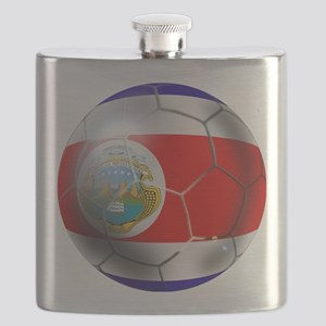 Costa Rica Soccer Ball Flask