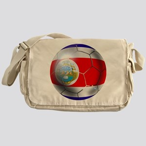 Costa Rica Soccer Ball Messenger Bag