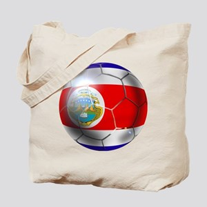 Costa Rica Soccer Ball Tote Bag