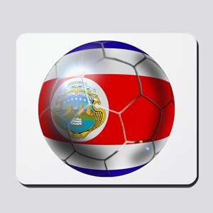 Costa Rica Soccer Ball Mousepad