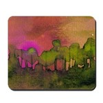 The Woods II Magenta Mousepad