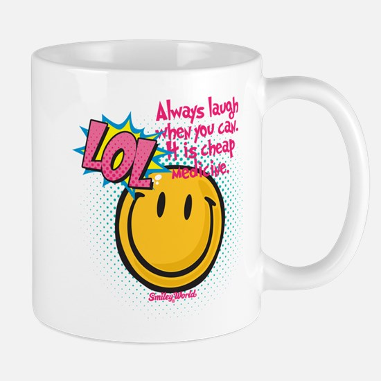 lol smiley Small Mug