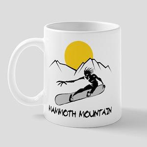 Mammoth Mountain Snowboard Mug
